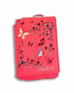 Pink Butterflies Insulin Pump Case