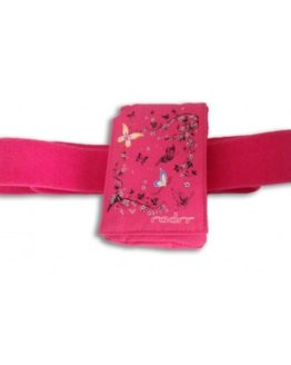 Pink Butterflies Insulin Pump Case + Belt